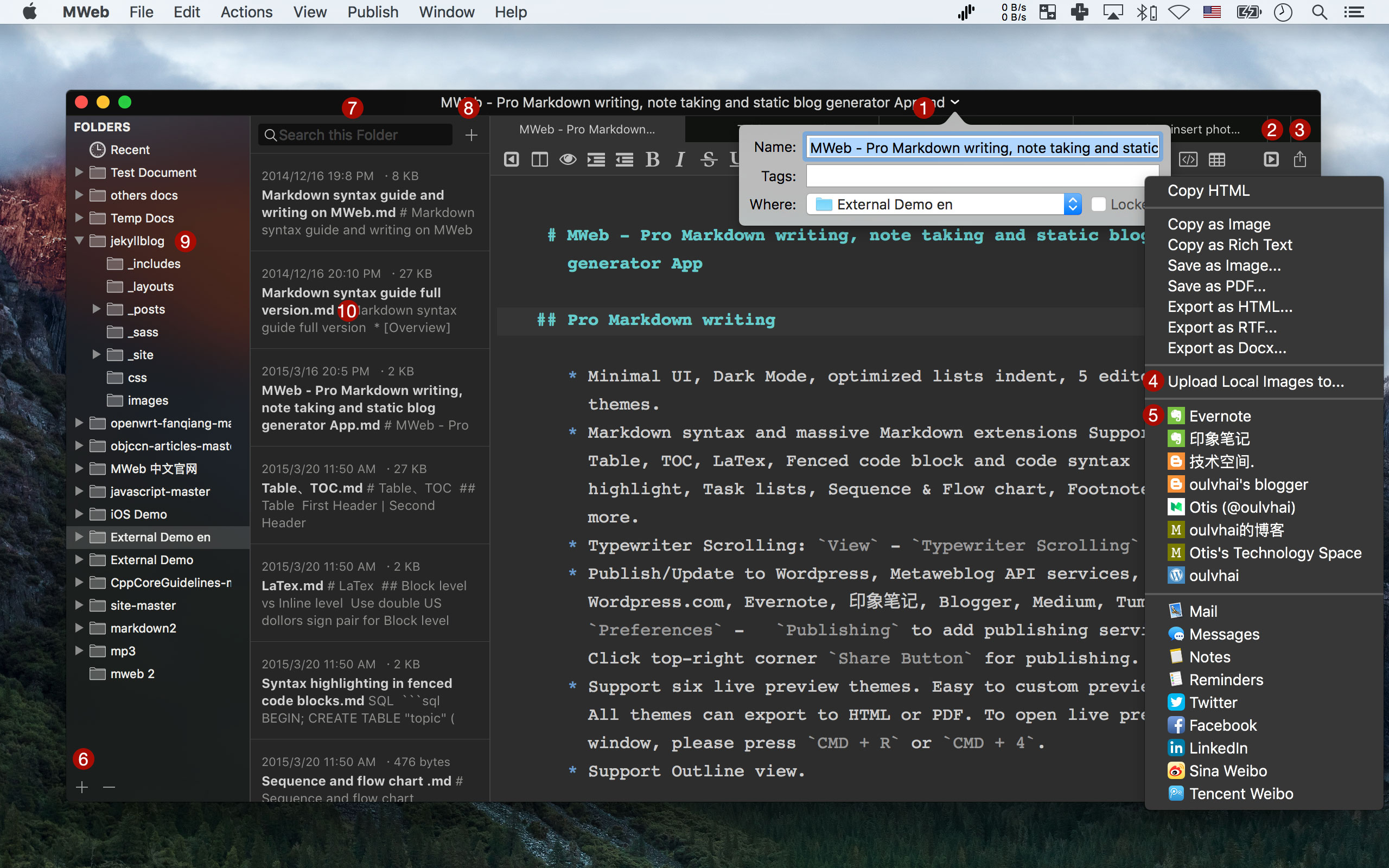 41 Best Markdown editors for OS