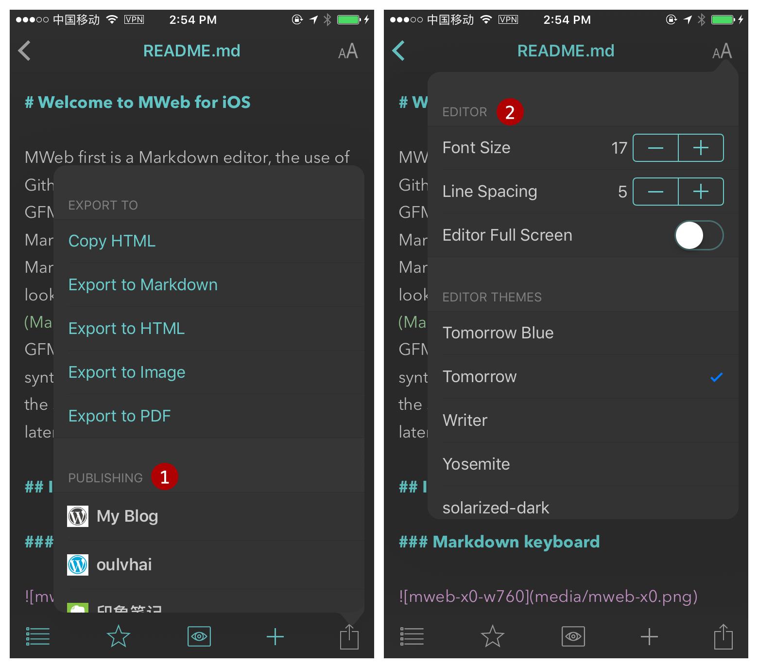 Introducing to MWeb for iOS - MWeb